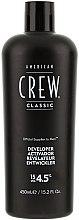 Düfte, Parfümerie und Kosmetik Entwicklerlotion 4,5% - American Crew Precision Blend Developer 15 Vol 4.5%