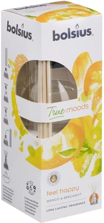 Raumerfrischer Mango & Bergamotte - Bolsius Fragrance Diffuser True Moods Feel Happy — Bild N1