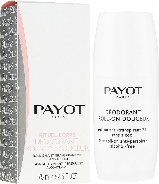 Aufweichendes Deo Roll-on - Payot Le Corps Deodorant Ultra Douceur Alcohol Free Roll On Deodorant — Bild N1
