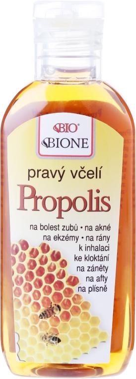 Propolis-Extrakt bei Neurodermitis, Juckreiz und Wundstellen - Bione Cosmetics Honey + Q10 Pure Bee Propolis — Bild N2