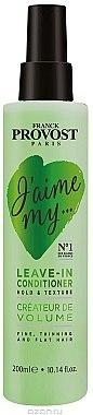 """Haarspülung """"Volumen und Elastizität"""" für dünnes Haar ohne Ausspülen - Franck Provost Paris Jaime My Hair Conditioner — Bild N1"""