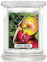 Düfte, Parfümerie und Kosmetik Duftkerze im Glas Apple Basil - Kringle Candle Apple Basil