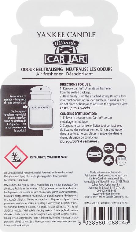 Auto-Lufterfrischer - Yankee Candle Soft Blanket Car Jar Ultimate  — Bild N2
