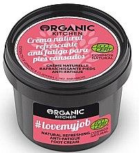 Düfte, Parfümerie und Kosmetik Erfrischende Creme gegen müde Füße - Organic Shop Organic Kitchen Foot Cream