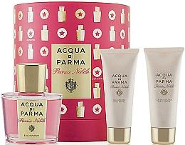 Düfte, Parfümerie und Kosmetik Acqua di Parma Peonia Nobile Set - Duftset (Eau de Parfum 100ml + Duschgel 75ml + Körpercreme 75ml)