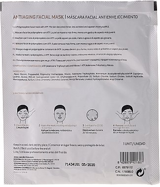 Anti-Aging Gesichtsmaske - SesDerma Laboratories Sesmedical Antiaging Face Mask — Bild N2