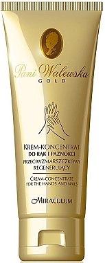 Regenerierendes Anti-Falten Hand- und Nagelcreme-Konzentrat - Miraculum Pani Walewska Gold Hand and Nail Cream-Concentrate — Bild N1