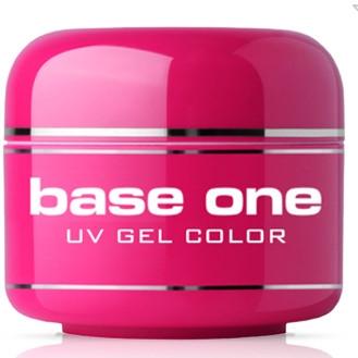 UV Nagelgel gelb - Silcare Base One Color Pastel — Bild N1