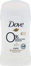 Düfte, Parfümerie und Kosmetik Deostick Antitranspirant - Dove Original 0% Aluminium Salts Deodorant