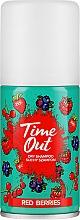 Düfte, Parfümerie und Kosmetik Trockenshampoo Red Berries - Time Out Dry Shampoo Red Berries
