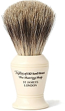 Düfte, Parfümerie und Kosmetik Rasierpinsel P375 - Taylor of Old Bond Street Shaving Brush Pure Badger size M