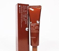 Düfte, Parfümerie und Kosmetik Reparierende und feuchtigkeitsspendende Gesichtscreme gegen Aknenarben und Hautunreinheiten mit 92% Schneckenextrakt - Mizon All in One Snail Repair Cream (Mini)