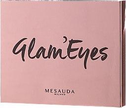 Düfte, Parfümerie und Kosmetik Lidschattenpalette - Mesauda Milano Glam'eyes 12 Multi Finish Compact