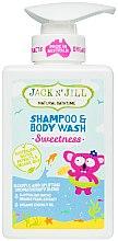 Düfte, Parfümerie und Kosmetik Kinder Duschgel und Shampoo 2in1 - Jack N' Jill Sweetness Shampoo & Body Wash
