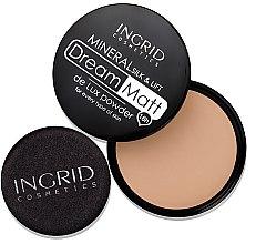 Kompaktpuder - Ingrid Cosmetics Dream Matt De Lux Powder — Bild N3
