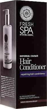 Regenerierender Conditioner für trockenes und geschädigtes Haar mit Extrakt aus schwarzem Kaviar und Bio-Sanddornöl - Natura Siberica Fresh Spa Imperial Caviar Conditioner — Bild N1