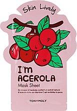 Düfte, Parfümerie und Kosmetik Tuchmaske für das Gesicht mit Acerola-Extrakt - Tony Moly I'm Acerola Skin Lively Sheet Mask