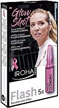 Düfte, Parfümerie und Kosmetik Erfrischende Gesichtsampullen für strahlende Haut - Iroha Nature Glow Shot Ampoules