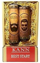 Düfte, Parfümerie und Kosmetik Gesichtspflegeset - Kann Best Start Man (Gesichts- und Bartcreme 50ml + Tagescreme 150ml SPF 15)