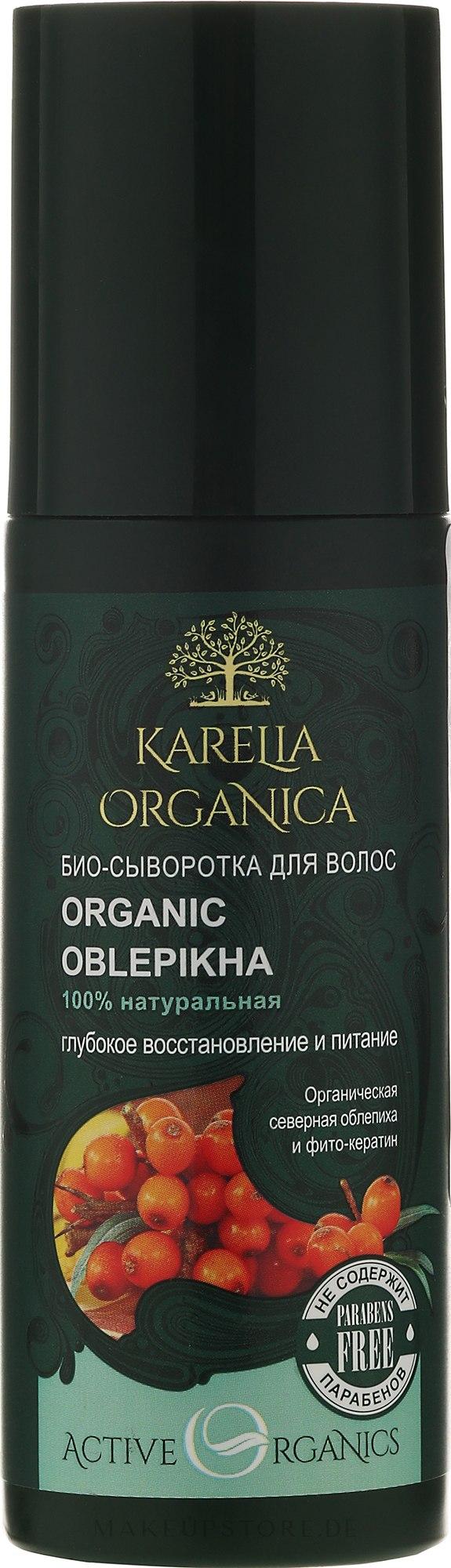 Intensiv regenerierendes Bio Haarserum mit Sanddornextrakt - Fratti HB Karelia Organica — Bild 150 ml
