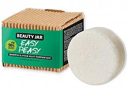 Düfte, Parfümerie und Kosmetik Haar- und Rasierseife - Beauty Jar Easy Peasy Shampoo & Shave Multi-Purpose Bar