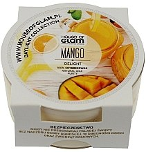 Düfte, Parfümerie und Kosmetik Soja-Duftkerze Mango Delight - House of Glam Daylight Collection Mango Delight Candle (Mini)