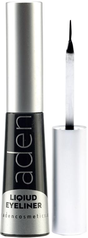 Wasserdichter Eyeliner - Aden Cosmetics Liquid Eyeliner — Bild N1
