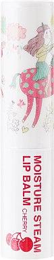 Feuchtigkeitsspendender Lippenbalsam Kirsche - Seantree Moisture Steam Lip Balm Cherry Stick (Design 2) — Bild N2