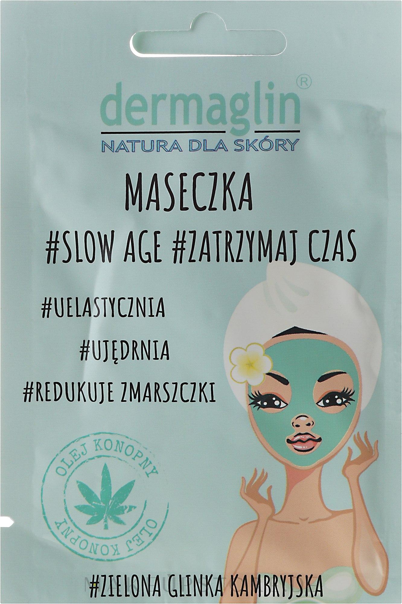 Gesichtsmaske - Dermaglin Slow Age — Bild 20 g