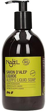 Aleppo-Flüssigseife - Najel Liquid Aleppo Soap — Bild N1