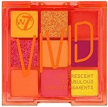 Düfte, Parfümerie und Kosmetik Lidschattenpalette - W7 Vivid Fluorescent & Fabulous Pressed Pigments