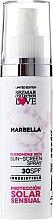 Düfte, Parfümerie und Kosmetik Sonnenschutzspray Marbella SPF 30 - Hristina Cosmetics Sezmar Collection Marbella