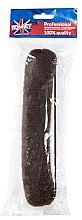 Düfte, Parfümerie und Kosmetik Professioneller Haar Donut mit Gummi, 23 cm, braun - Ronney Professional Hair Bun With Rubber 059