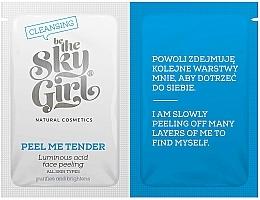 Düfte, Parfümerie und Kosmetik Gesichtspeeling mit Azelainsäure, Vitaminen und Haferflocken - Be The Sky Girl Super Star Peel Me Tender