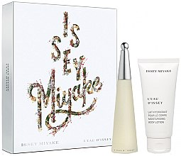 Düfte, Parfümerie und Kosmetik Issey Miyake L'Eau Dissey - Duftset (Eau de Toilette 50ml + Körperlotion 100ml)