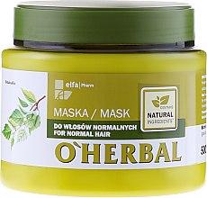 Düfte, Parfümerie und Kosmetik Maske für normales Haar - O'Herbal