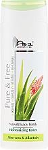 Düfte, Parfümerie und Kosmetik Feuchtigkeitsspendendes Gesichtstonikum mit Aloe Vera und Allantoin - AVA Laboratorium Pure & Free Moisturizing Toner