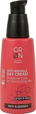 Anti-Falten Tagescreme mit Trauben und Olive - GRN Rich Elements Grape & Olive Day Cream — Bild N1