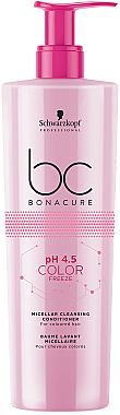 Mizellenbalsam für coloriertes Haar - Schwarzkopf Professional Bonacure Color Freeze pH 4.5 Conditioner — Bild N1