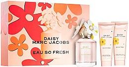Düfte, Parfümerie und Kosmetik Marc Jacobs Daisy Eau So Fresh - Duftset (Eau de Toilette 75ml + Körperlotion 75ml + Duschgel 75ml)