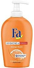 Düfte, Parfümerie und Kosmetik Antibakterielle Flüssigseife mit Orangenduft - Fa Hygiene & Freshness Orange Liquid Soap