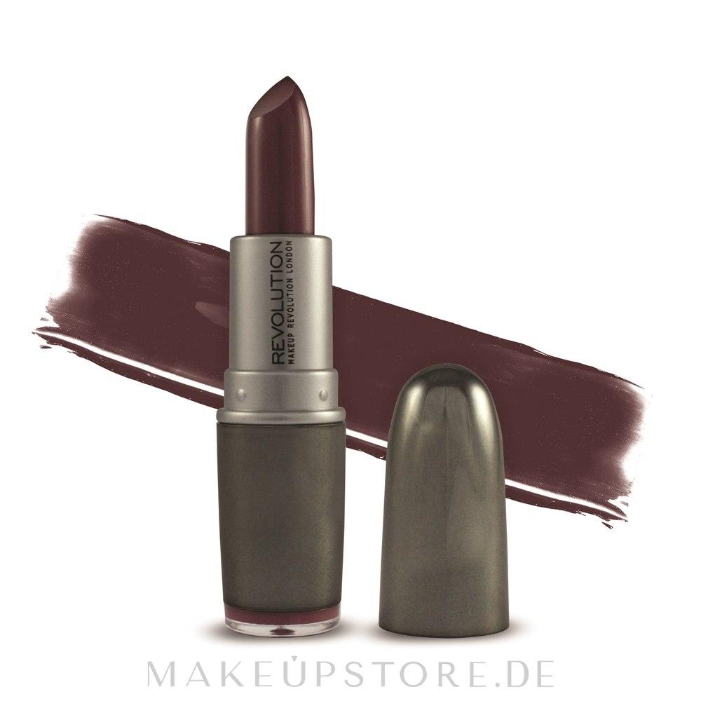 Lippenstift - Makeup Revolution Ultra Amplification Lipstick — Bild Deepen