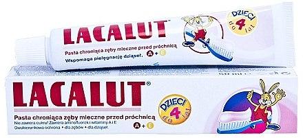 Kinderzahnpasta 0-4 Jahre mit Himbeergeschmack - Lacalut Baby Toothpaste — Bild N3