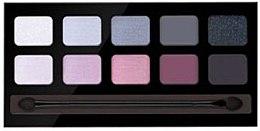 Düfte, Parfümerie und Kosmetik Lidschattenpalette mit 10 Farben - Pierre Rene Palette Match System Eyeshadow Delicate Charm