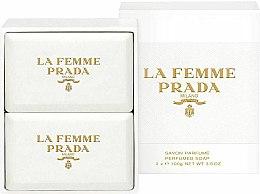 Düfte, Parfümerie und Kosmetik Prada La Femme Prada - Seifenset (2x100g)
