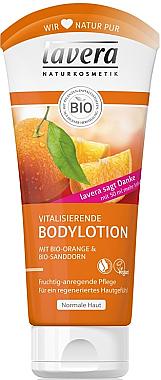 Vitalisierende Bodylotion mit Bio-Orange & Bio-Sanddorn - Lavera Organic Orange & Organic Sea Buckthorn Body Lotion — Bild N1