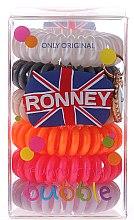 Düfte, Parfümerie und Kosmetik Haargummis Farb-Mix 6 St. №7 - Ronney Professional Funny Ring Bubble 7