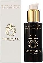 Düfte, Parfümerie und Kosmetik Straffendes Anti-Aging Gesichtsserum auf Gold-Basis - Omorovicza Gold Flash Firming Serum
