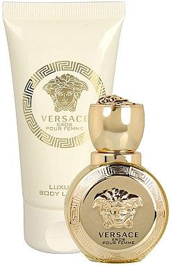 Versace Eros Pour Femme - Duftset (Eau de Parfum 30ml + Körperlotion 50ml) — Bild N3