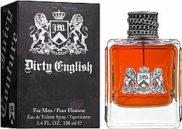 Juicy Couture Dirty English for Men - Eau de Toilette — Bild N2